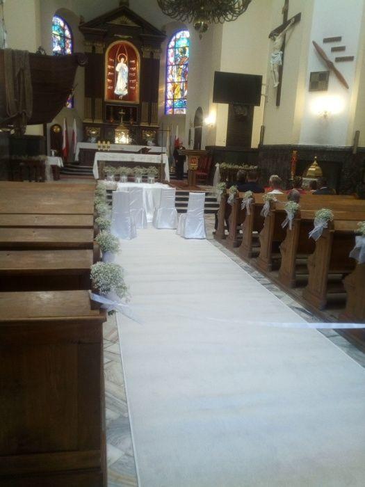 Biały dywan ślubny,biały dywan na ślub.Wynajem