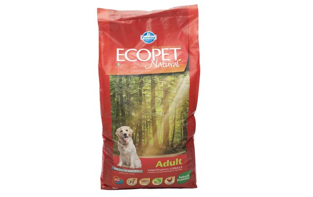 Ecopet Natural MEDIUM Adult 12kg KURCZAK dla psów