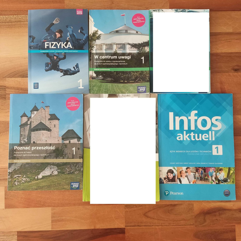 Liceum podręczniki szkolne do kl. I-używane-okazja !!!