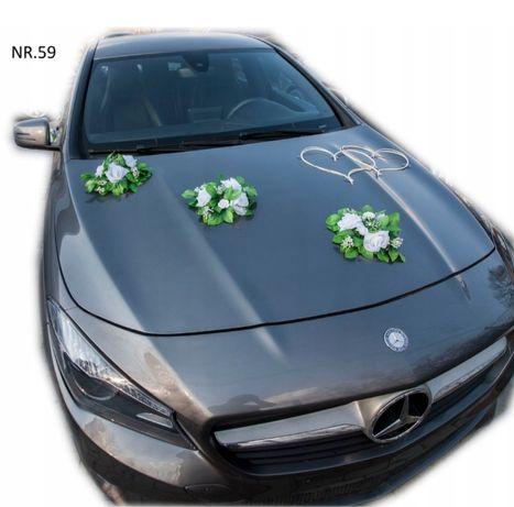 Dekoracja samochodu,ustrojenie auta do slubu