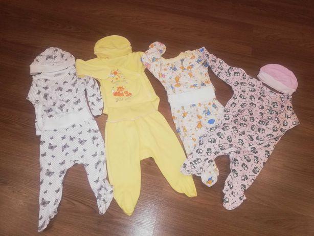 Одяг для дівчинки 56 - 62 розмір