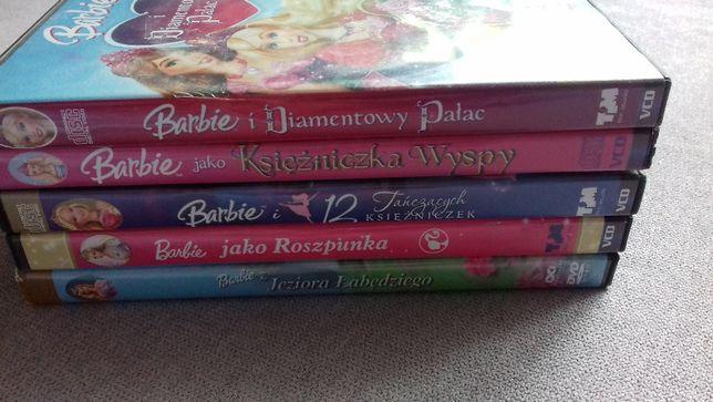 Barbie bajki dvd i vcd