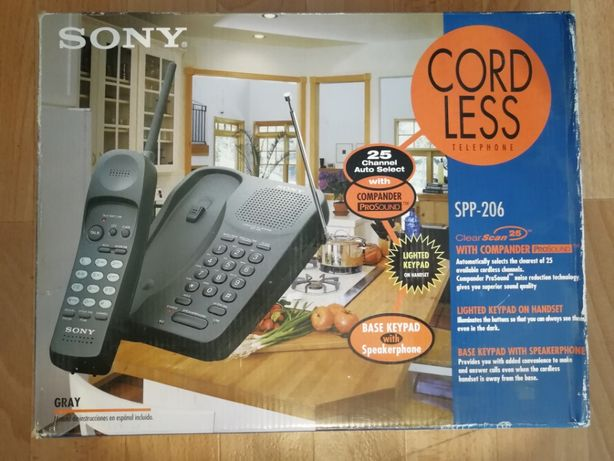 SONY SPP-206 Радиотелефон Телефон