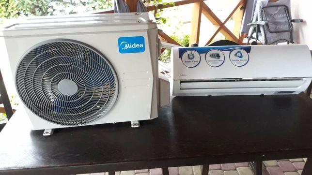 Pompa ciepla Klimatyzator Midea komplet jak Nowy
