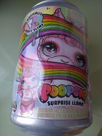 Огромный набор  Пупси Лама слайм сюрприз poopsie