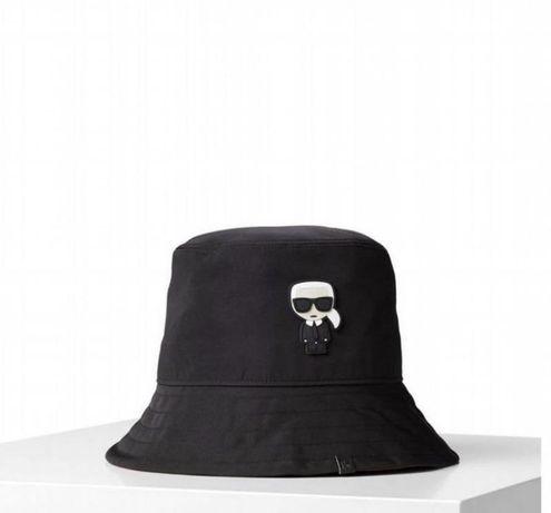 Черная панама Karl Lagerfeld