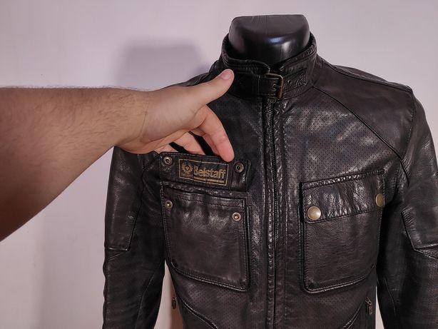 Кожанная куртка BELSTAFF leather jacket Оригинал! (Р.М-Л) белстаф харл