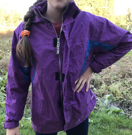 Куртка фіолетова на дівчинку
