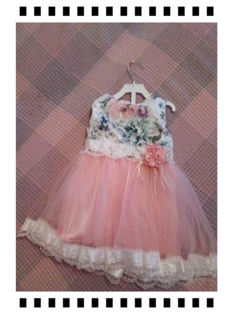 Платье фатиновое для девочки