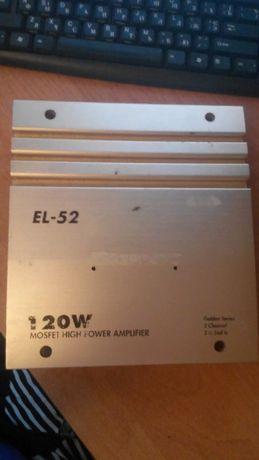 CD-Changer SONY CDX-601/Усилитель звука 120w/ EL-52