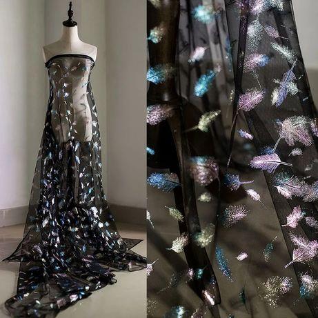 NEW 2021 Ткань,сетка для одежды, новогодних,танцевальных костюмов,перо