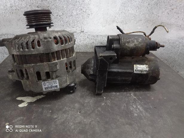 Стартер генератор Рено Кенго 1.5dci