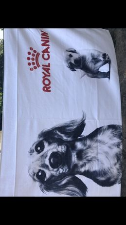 Toalha royal canin