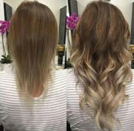 Przedłużanie i zagęszczanie włosów metoda (tape on) od 300 zł