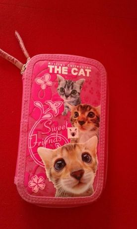 Piórnik The Cat plus drugi piórnik gratis