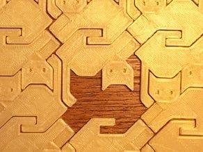 Puzzle z kotów Druk 3D na zamówienie