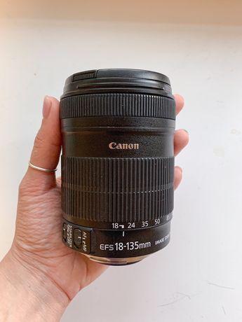Объектив Canon 18-135 mm zoom lens ef-s