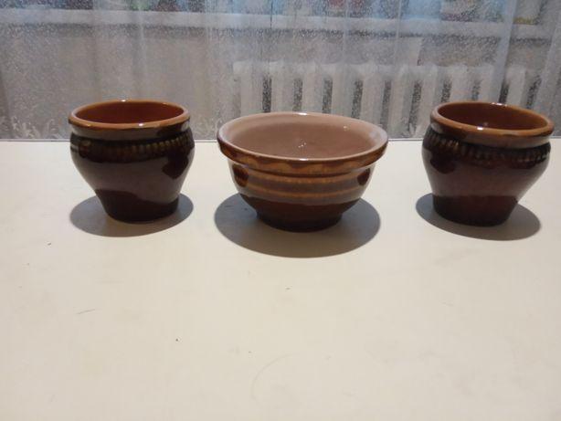 Макитры, соусница керамические