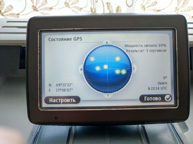 GPS навігатор TomTom (економ-доставка)