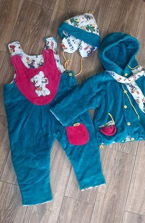 Зимний костюм на 1-1,5 года (для дома)