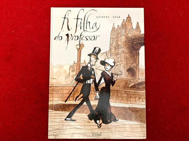 """Livro - """"A Filha do Professor"""", de Guibert e Sfar"""