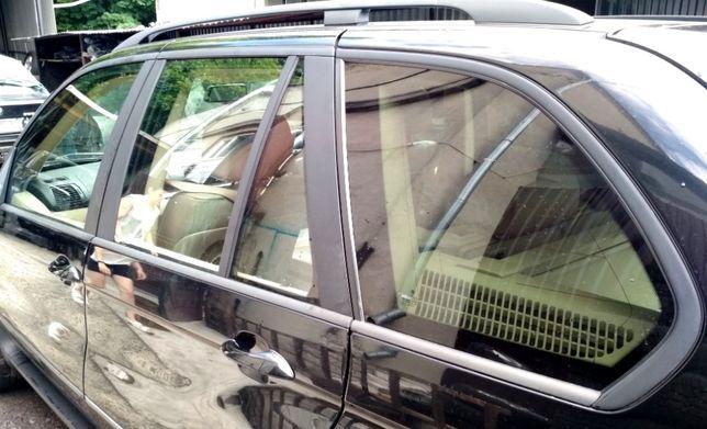 Стекло двери скло дверей боковое BMW X5 E53 Е60 Е70 F15 F10 БМВ Х5