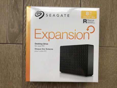 Новый Seagate 8TB внешний жесткий диск (1,2,4,10,16 тб) chia майнинг