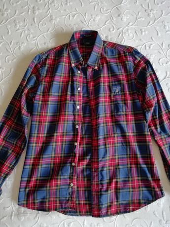 Camisa xadrez Gant
