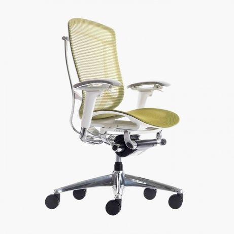 Кресло OKAMURA CONTESSA SECONDA, с сетчатым сиденьем, белый корпус