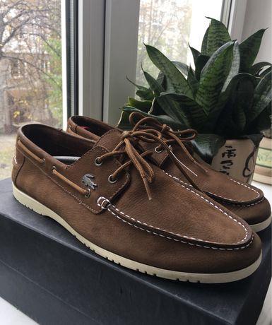 LACOSTE оригинал кроссовки boss geox туфли кожа