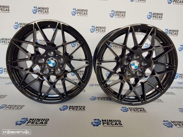 "Jantes BMW (M4) GTS em 18"" Gloss Black"