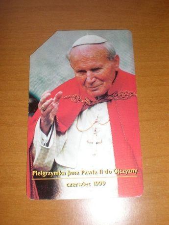 Karty Telefoniczne z Papieżem JAN PAWEŁ II
