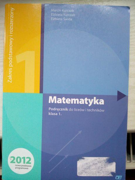 Matematyka Podręcznik do liceów i techników, klasa 1 wydaw. Pazdro