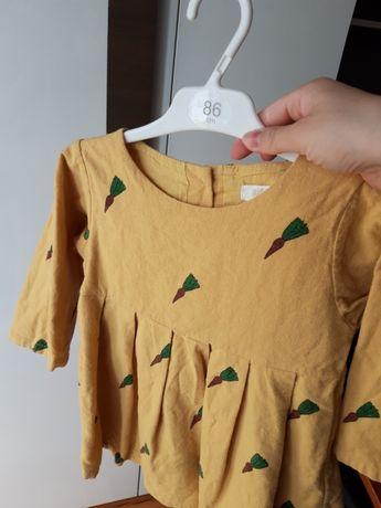 Sukienka dla dziewczynki r. 92, r.98