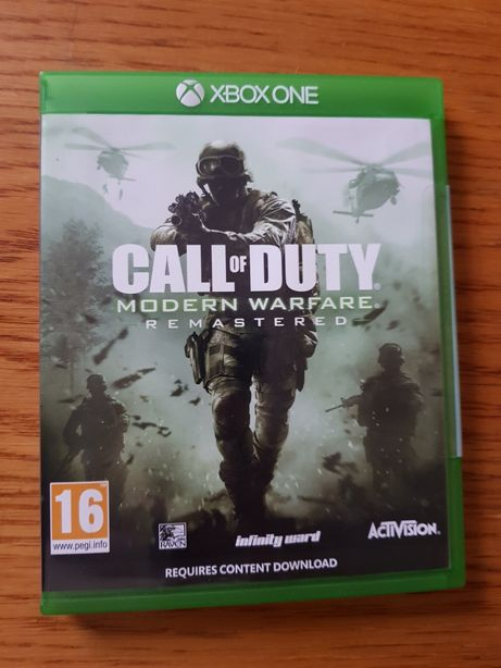Xbox One Call  of Duty modern warfare remastered PL