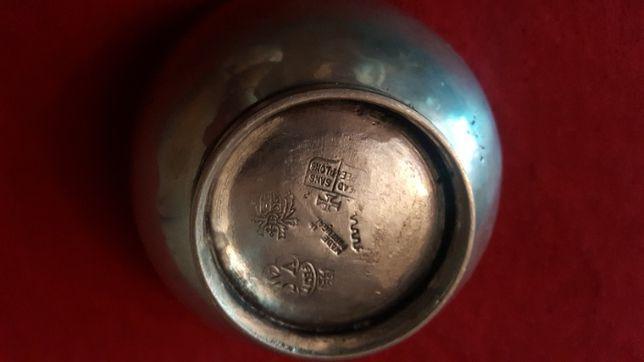 Vintage miseczka cynowa