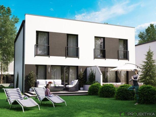 Sprzedaż domu typu bliźniak przy ulicy Drobnej w Gnieźnie (duży ogród)