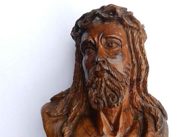 Cabeça Cristo com espinhos - Sec. 20