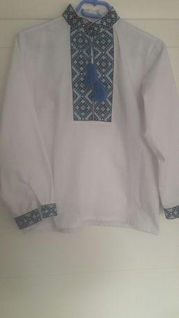 Продам вышиванку для мальчика 9-11 лет