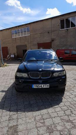 Капот крило бампер BMW X5 E53  шрот запчасти