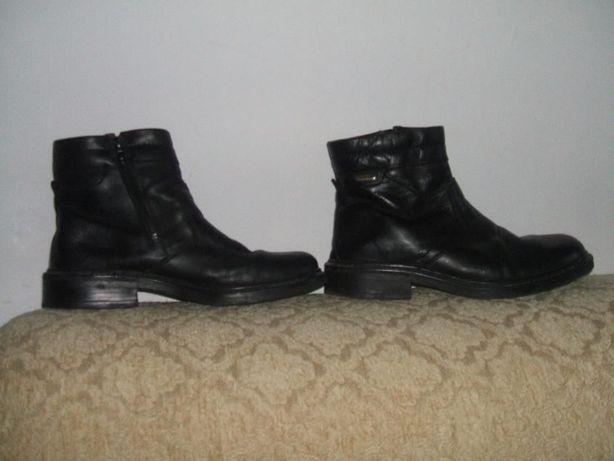 buty skórzane 42 czarne męskie.skóra naturalna
