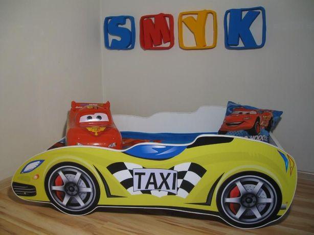 Łóżko dziecięce SAMOCHÓD - 140x70 żółty TAXI