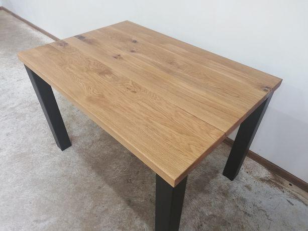 Stół dębowy loft industrialny Minimalistyczny