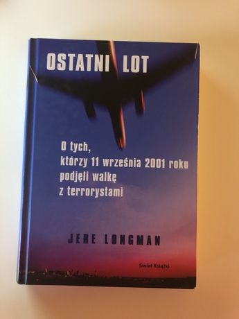 """Sprzedam książkę """"Ostatni lot"""""""