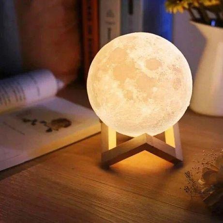 Красивая ночная Луна ночник светильник лампа сенсорная с пультом