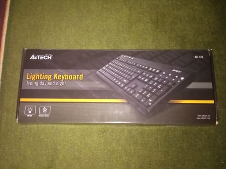A4tech KD-126 с подсветкой клавиш (Белый)