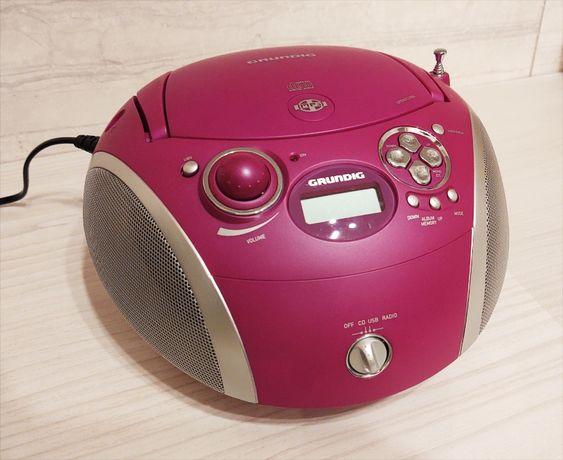 NOWY Radioodtwarzacz CD USB Radio FM