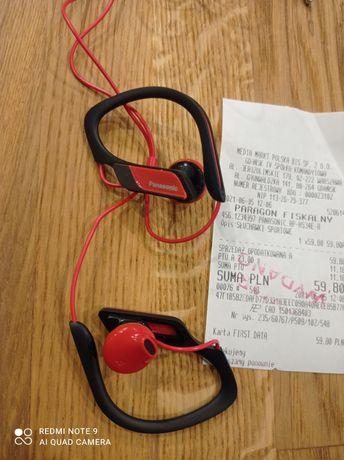 Słuchawki Panasonic do biegania, sportu