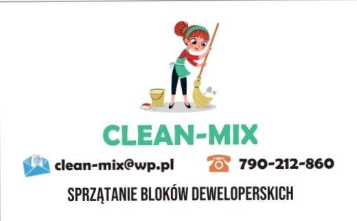 Firma sprzątająca Clean-Mix