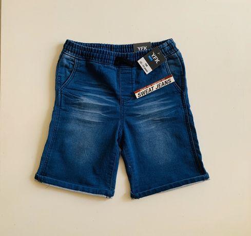 Шорты джинсовые Y.E.K. boys, р.158, новые, с этикетками.